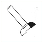 "Finger grip bits 1/4"" shank"
